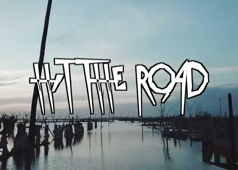 Hit the road - zatopené město