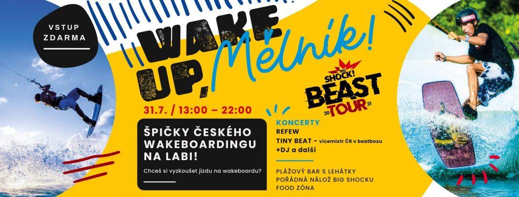 Wake up, Mělník! + Refew & Tiny Beat