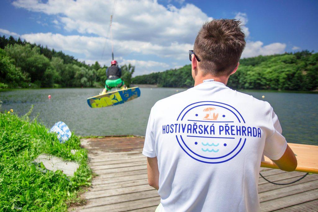 Wakeboardové tréninky na Hostivařské přehradě